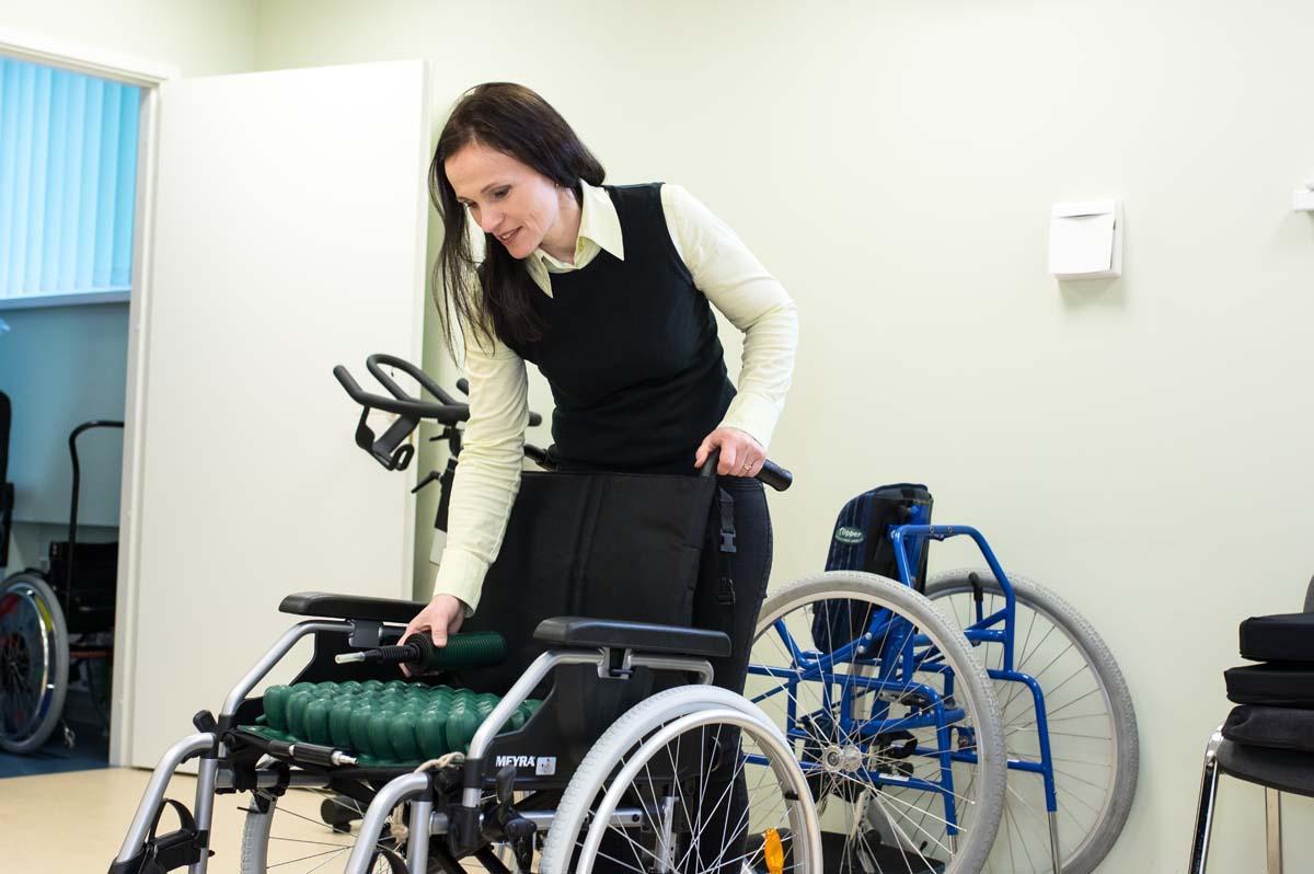 abivahendikeskuse füsioterapeudi konsultatsioon
