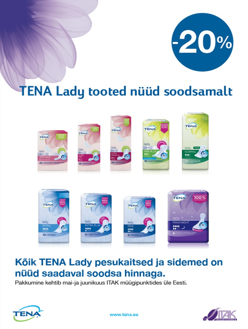 Tena Lady sidemed